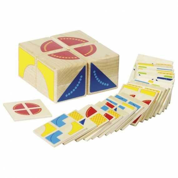 Układanka geometryczna Kubus Goki