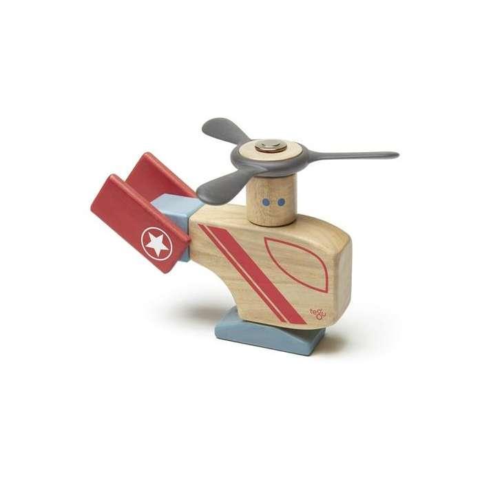 Drewniane klocki magnetyczne TEGU STUNT TEAM Looper