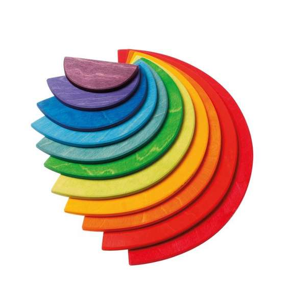 Duże kolorowe półokręgi, 11-el. 1+ Grimm's