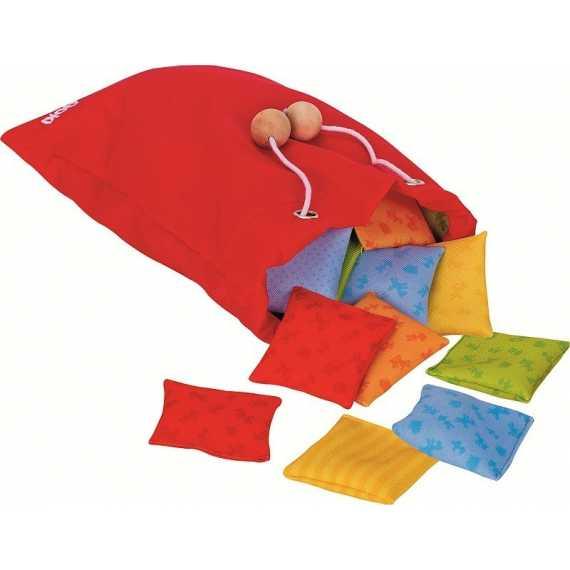 Memo gra sensoryczna poduszeczki Goki