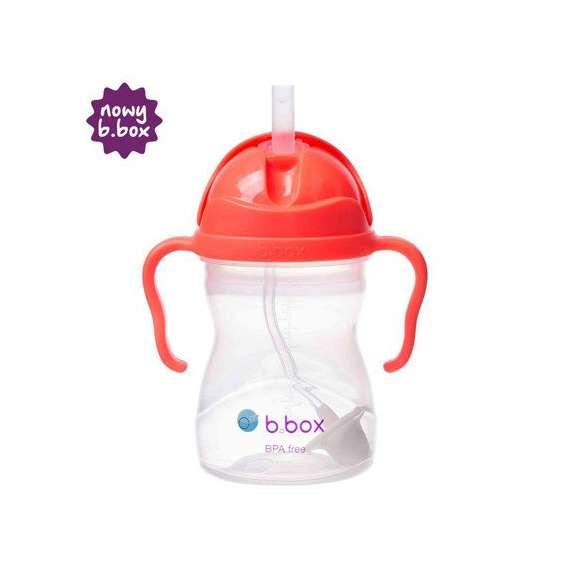 B.box - Innowacyjny bidon ze słomką, arbuzowy