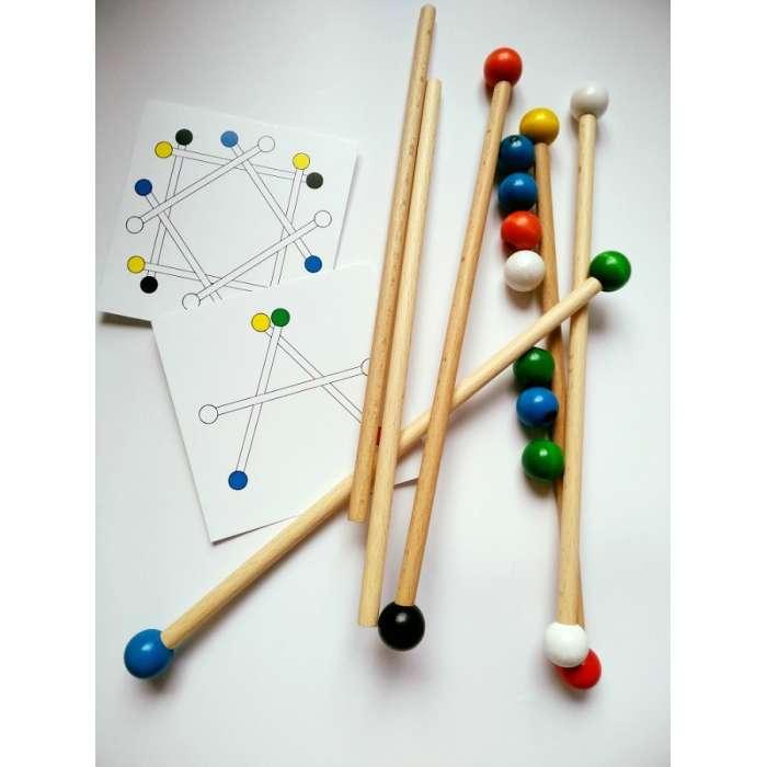 Patyczaki - zabawka edukacyjna Buu
