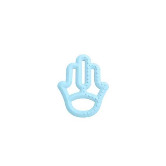 Gryzak silikonowy niebieski
