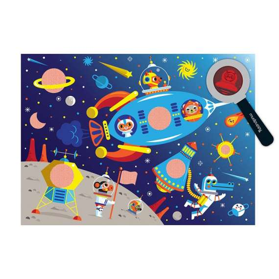 Puzzle Kosmos ukryte obrazki, Mudpuppy