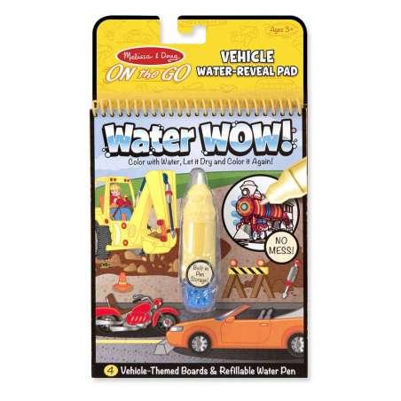 Kolorowanka Wodna WaterWow Pojazdy Melisssa&Doug