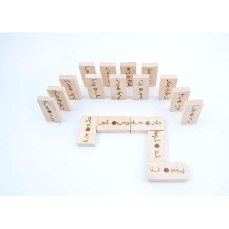 Ortomino - domino ortograficzne u-ó