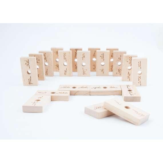 Ortomino - domino ortograficzne Buu