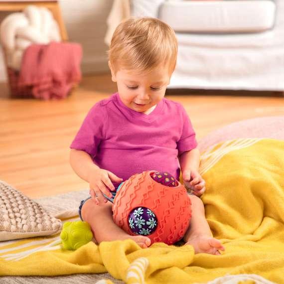 Kula sensoryczna z piłkami B.Toys