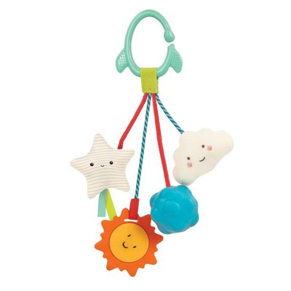 Gryzak z zawieszkami sensorycznymi B.Toys
