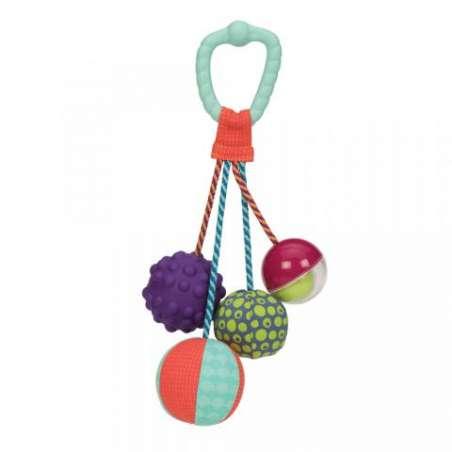 Gryzak z piłeczkami sensorycznymi B.Toys