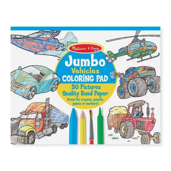 Kolorowanka dla chłopca Jumbo Melissa&Doug