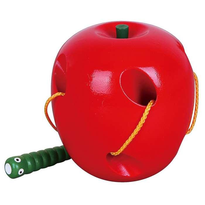 Jabłko - drewniana przeplatanka, Viga