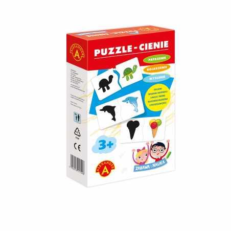 Puzzle Cienie - Zabawa i Nauka