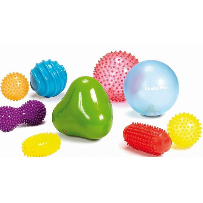 Zestaw sensorycznych piłek (9 sztuk) Edushape