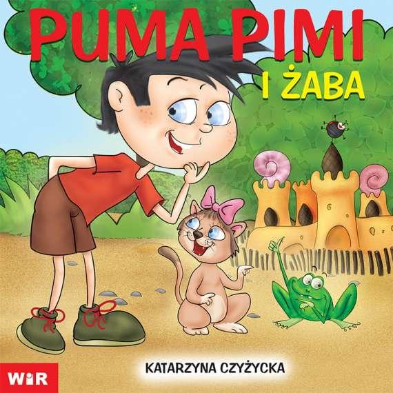 Puma Pimi i żaba - cz.8 sylaby ze spółgłoskami SZ