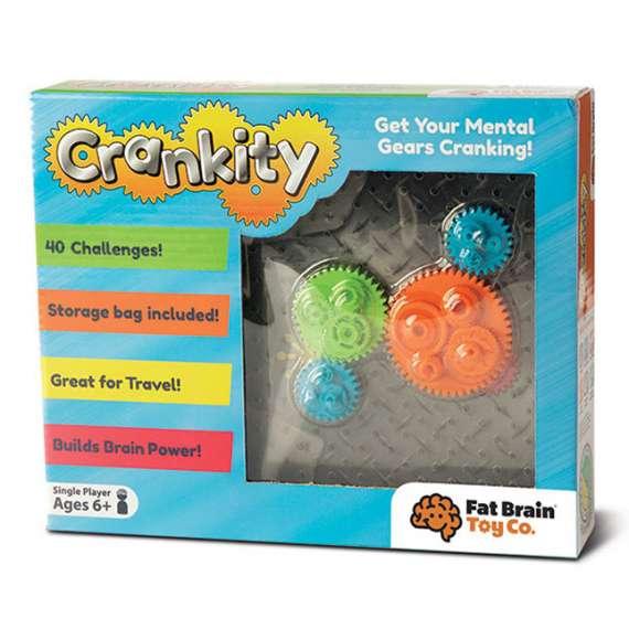 Gra logiczna Kółka Zębate Crankity
