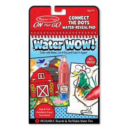 Kolorowanka Wodna WaterWow POŁĄCZ KROPKI Melisssa&Doug