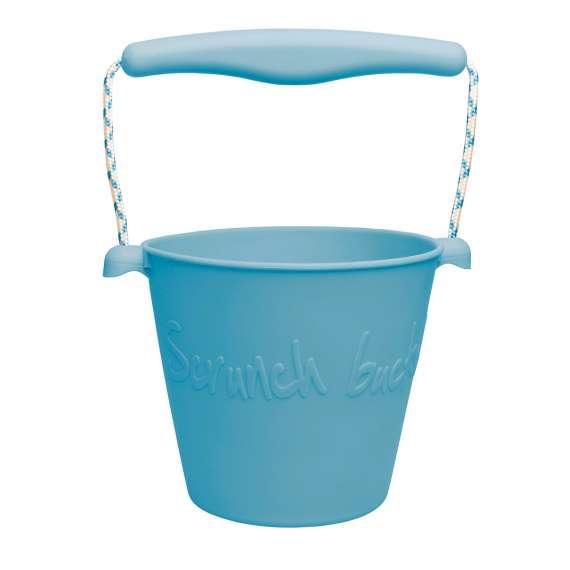 Składane wiaderko do wody i piasku Scrunch Bucket - Petrol