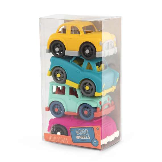 Zestaw 4 małych autek – 4 MINI RIDERS