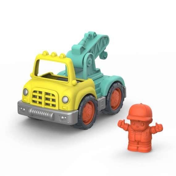 Mała CIĘŻARÓWKA-DŹWIG z kierowcą – CRANE TRUCK