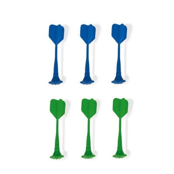 Zestaw rzutek magnetycznych 6 sztuk (zielone i niebieskie), Janod