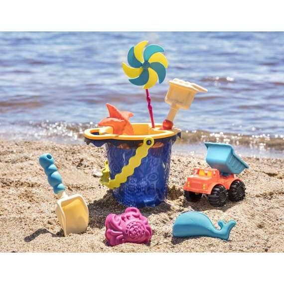 Sands Ahoy! – wiaderko z akcesoriami do piasku
