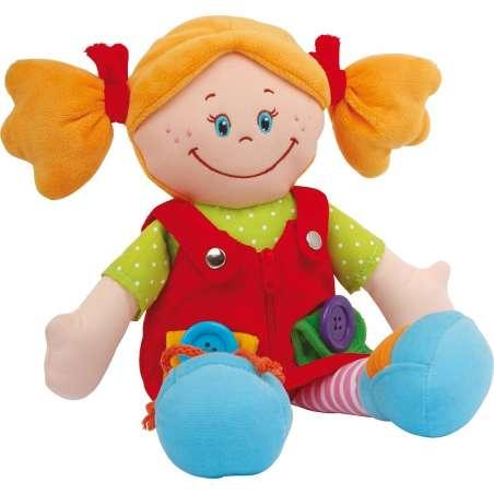 Lalka z zapięciami - Klara