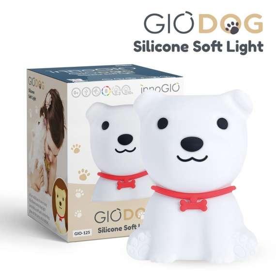 Silikonowa Lampka Piesek GIOdog