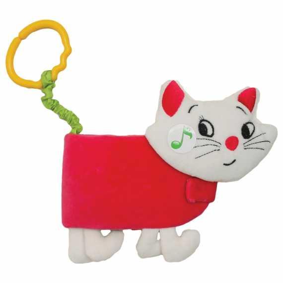 Miękka książeczka Kot Hencz Toys