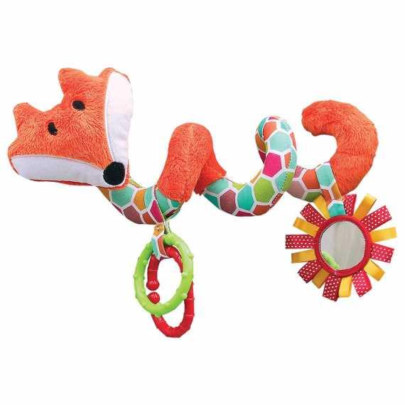 Pomarańczowa maskotka na wózek Hencz Toys