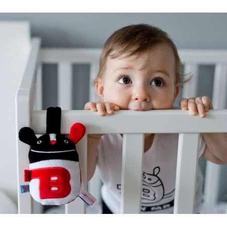 babyMRB – grzechotka sensoryczna z zawieszką